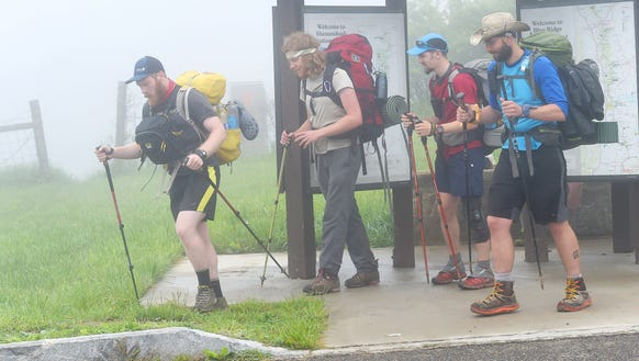 "Hiking the Appalachian Trail, David ""Ribbit"" Blount"