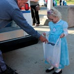 Kids dressed in Halloween costumes show up for Children's Boo Night and Spook-Truck-ular Halloween at Heath City Building in this Advocate 2014 file photo.