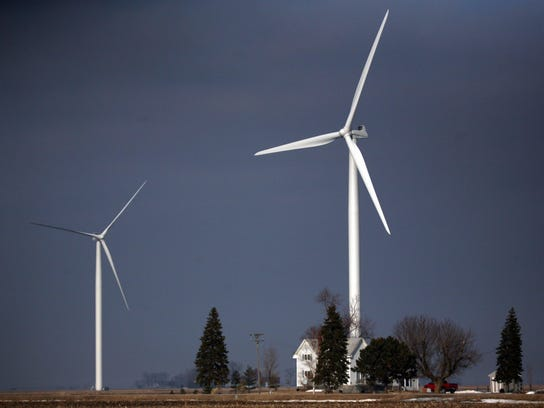 The Harvest Wind Farm in Huron County is Michigan's