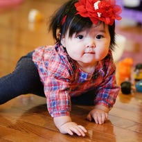 Seven month old baby Isla from Troy, MI was selected as the Grand Prize winning entry from more than 170,000 entries in the sixth annual Gerber Baby Photo Search 2015.
