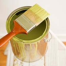 Applying fancy wall treatments or personalized paint jobs before selling a house may not be the best use of your time and money.