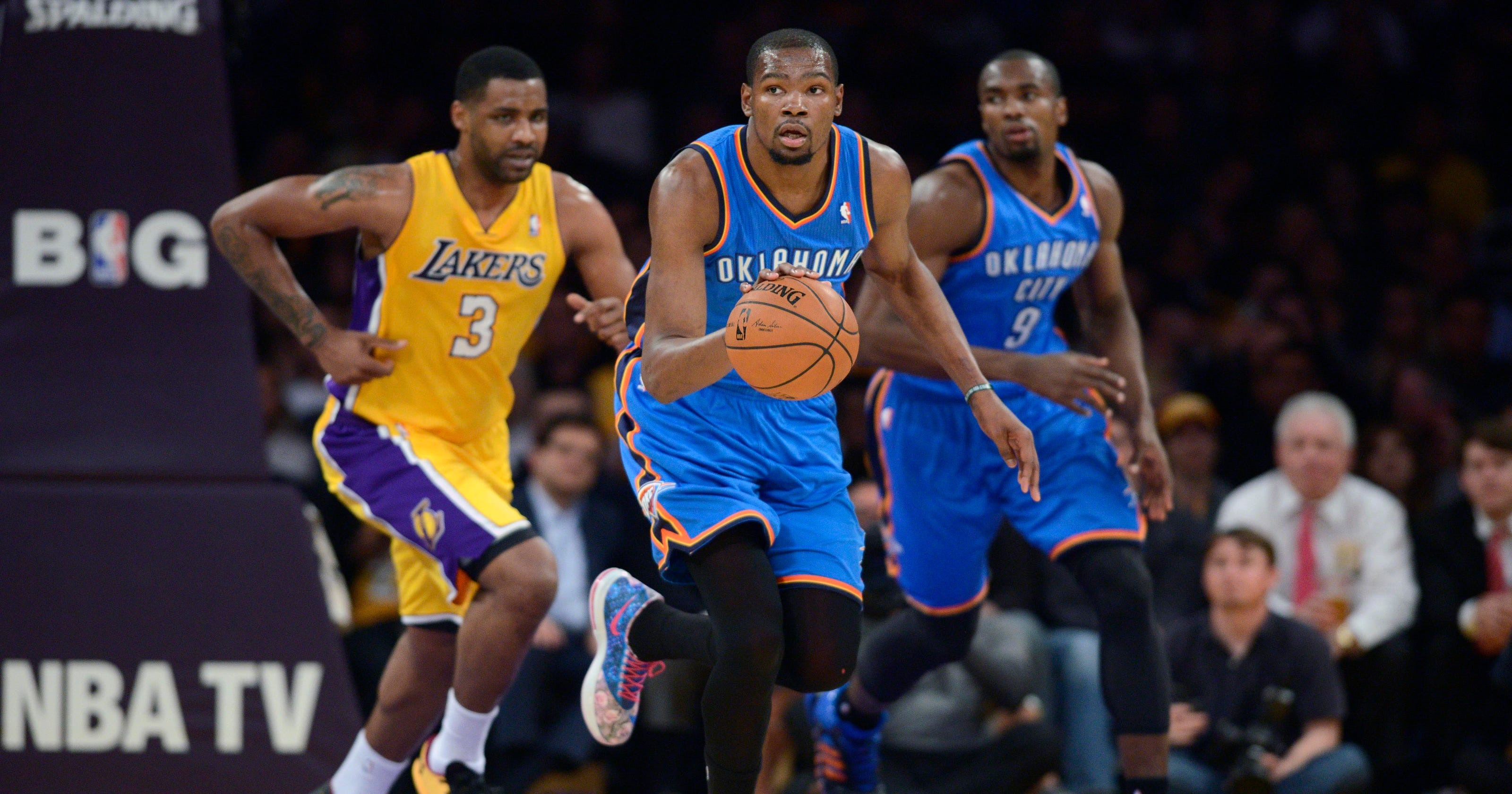 Kevin Durant shines as Thunder beat Lakers 6c9fb0a00