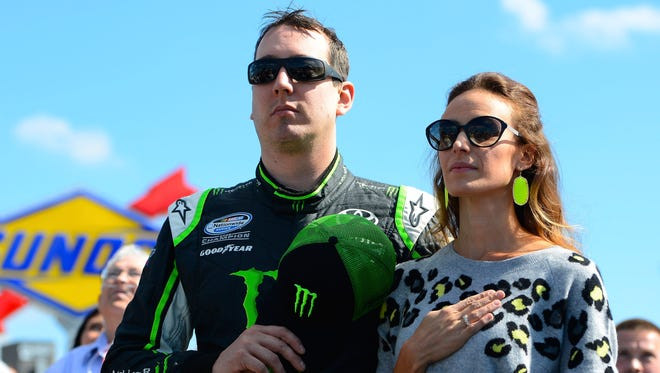 Kyle and Samantha Busch married on New Year's Even in 2010.