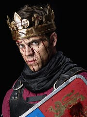 """Ross Neal as King Henry in """"The Life of King Henry"""