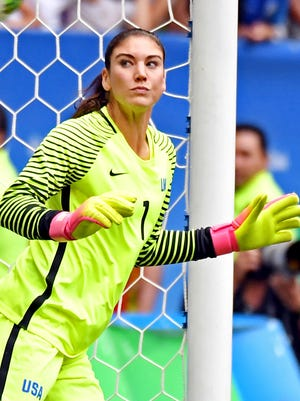 Hope Solo is unlikely to face sanctions for her comments about the Sweden team after the USA's quarterfinal loss at the Olympics.