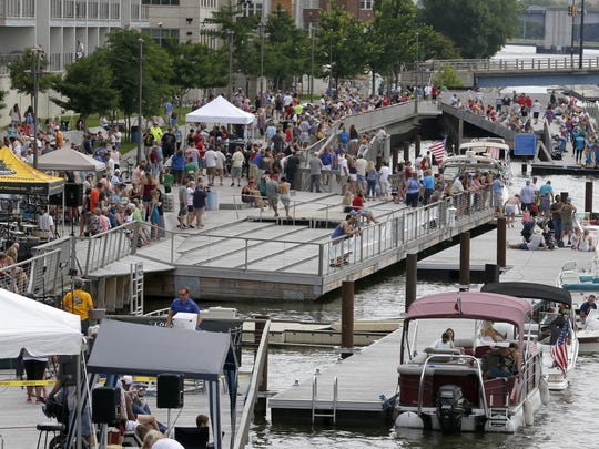 CityDeck along the Fox River will be a busy place during