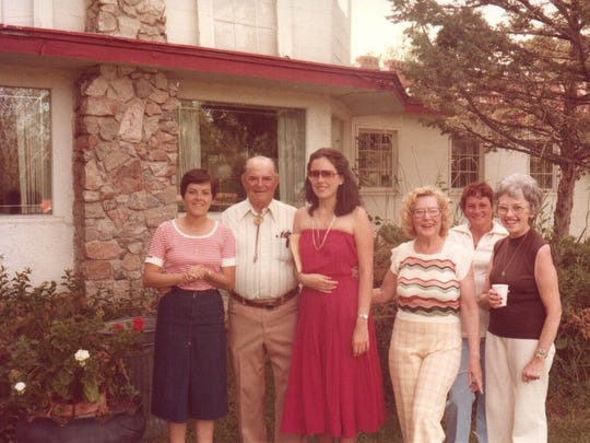 Patricia Dongo Soria, third from left, of Peru, visited Montana in July 1980. She and her husband, a Peruvian diplomat, were hosted by a family with whom she's lost touch. She doesn't remember their name but would like help contacting them.