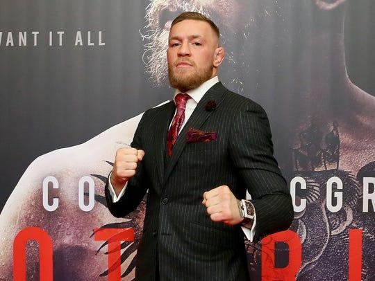 Conor McGregor, estrella de UFC.