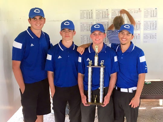 The Cavemen won the Spring Classic tournament Tuesday