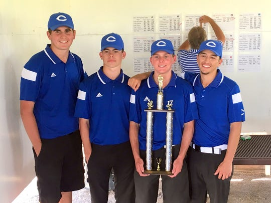 The Cavemen won the Spring Classic tournament Tuesday in Roswell.