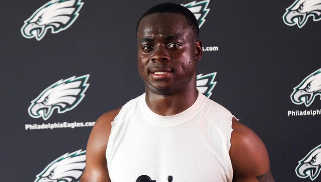 Eagles WR Jeremy Maclin is entering his sixth NFL season.