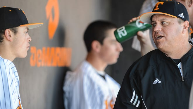 Tennessee has been swept 17 times in SEC series in Dave Serrano's time as the Vols' baseball coach.