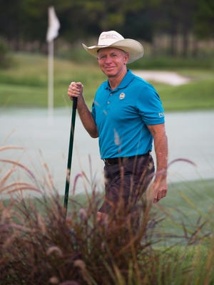 Dick Gray is the former golf course superintendent at PGA Golf Club at PGA Village in Port St. Lucie.