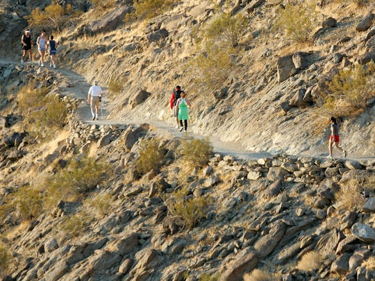 Temperatures will be dropping this weekend, making it a good time to get out for a hike.