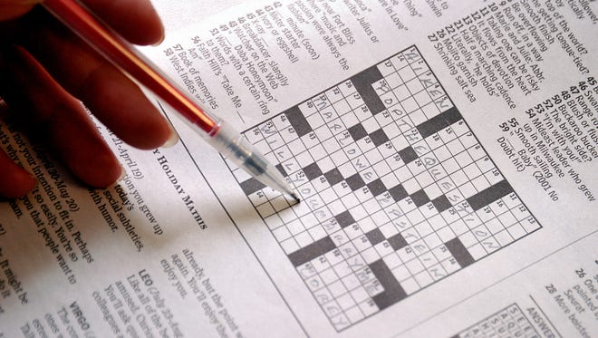 Crossword puzzle.
