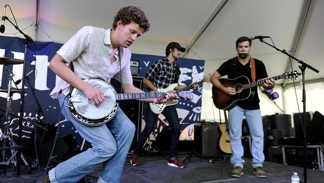 Nashville band Boy Named Banjo performs during the Bonnaroo Music and Arts Festival on June 12, 2015.