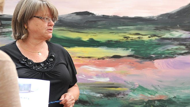 Vicki Kane, executive director at Harmony House, describes activities they are planing for their 25th anniversary open house.
