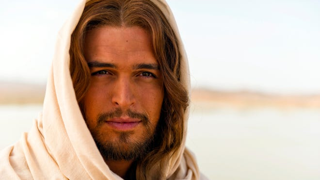 """Diogo Morgado plays Jesus in the film """"The Bible"""" by executive producers Mark Burnett and Roma Downey."""