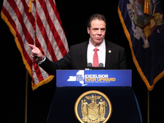 CUOMO STATE OF THE STATE