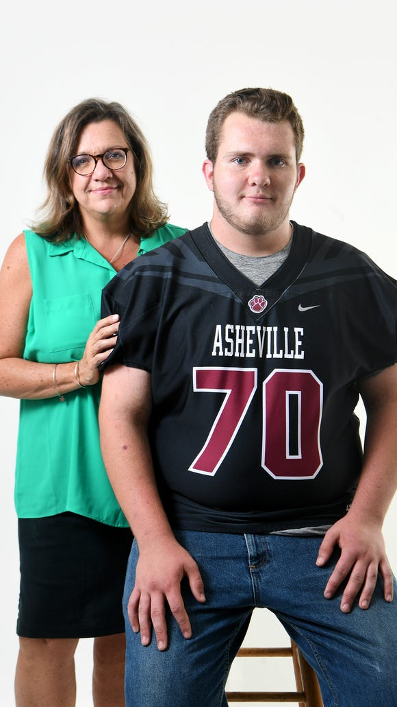 Cheri Honeycutt is fighting for her son, Noah Britton, 18, who wants to keep playing football for Asheville High School. Noah, who is autistic, will be continuing on in high school for a fifth year, per his Individual Education Plan, but the NCHSAA has said that he cannot play football because he has already attended eight semesters of high school. Honeycutt has filed an appeal on his behalf but was denied with no reason given.
