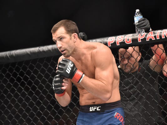 MMA: UFC Fight Night-Pittsburgh Rockhold vs Branch