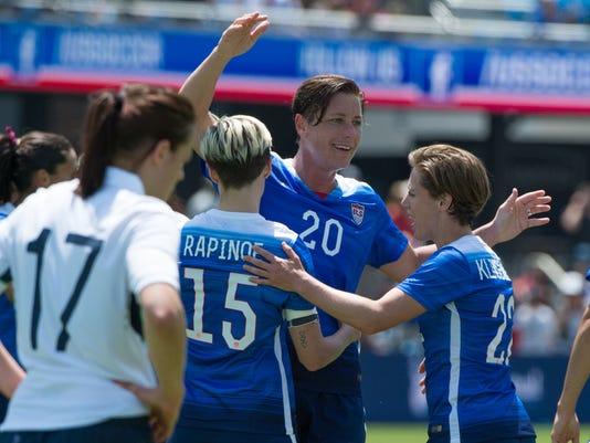 Soccer: Women's Friendly-USA vs Ireland