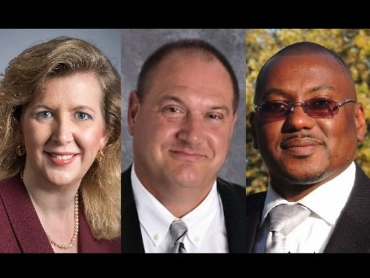 Vickie Cartwright, Timothy Onsager and Darrell Williams