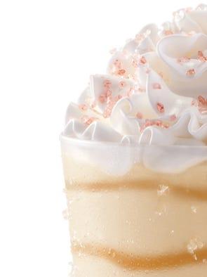 Salted Caramel Shake Fast Food