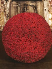 """James Lee Byars' """"The Rose Table of Perfect."""""""