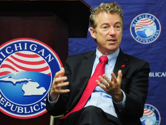 Rand Paul visits Michigan GOP