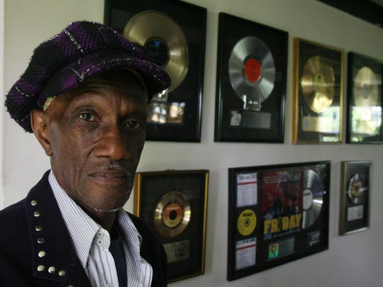 The walls of Bernie Worrell's Hampton home were lined