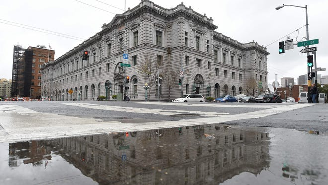 The 9th U.S. Circuit Court of Appeals building in San Francisco, where on Feb. 7, 2017, three federal judges will hear oral arguments in the challenge to President Trump's travel ban.