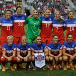 United States poses for a photo before the CONCACAF