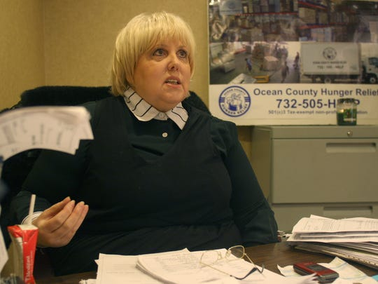 Carol Latif, executive director of Ocean County Hunger