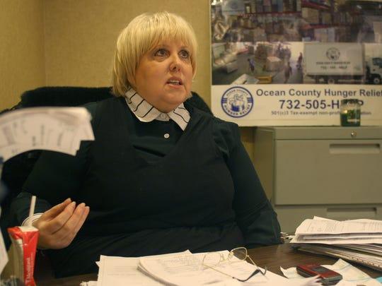 Carol Latif, Ocean County Hunger Relief's executive