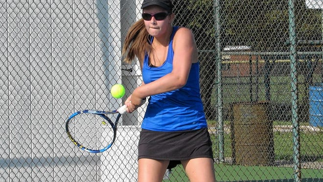 Junior Aubrey Thomas is back to play first singles for the Gahanna Lincoln girls tennis team, which returns most of its lineup from last season when the Lions finished 13-8.