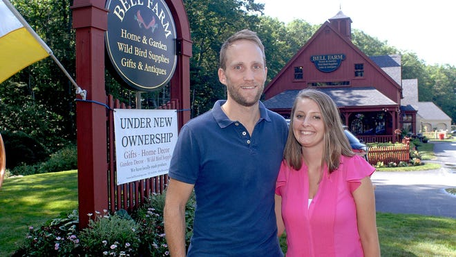 Michelle and John Corgan purchased Bell Farm on Route 1 in York in 2018 and changed the focus of the business from antiques to gifts and decor.