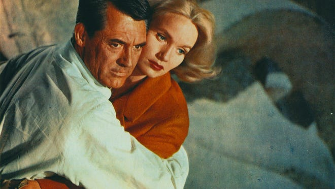 """Cary Grant and Eva Marie Saint in """"North by Northwest,"""" which will be shown Oct. 1 at the Gateway Film Center as part of its """"Hitchcocktober"""" series."""