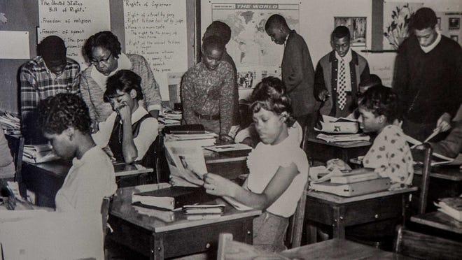 Howard High School yearbook from 1964.