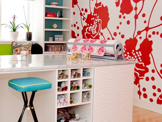 Get creative in an organized craft room for California closets reno