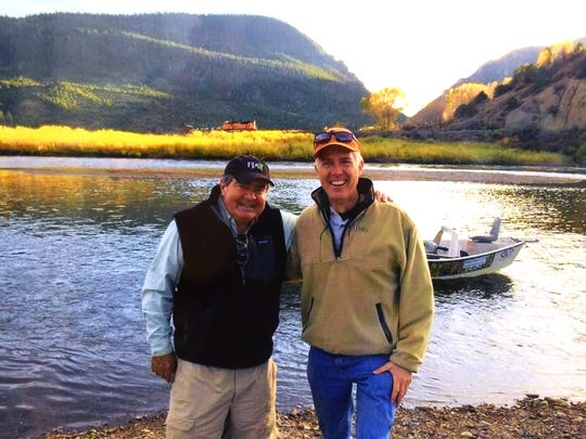 Supreme Court nominee Neil Gorsuch with his fishing
