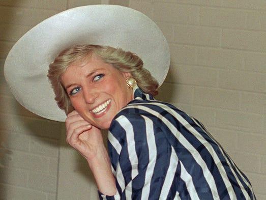 Princess Diana, born into a British noble family as