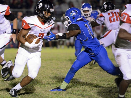 High School Football: Palm Bay at Heritage