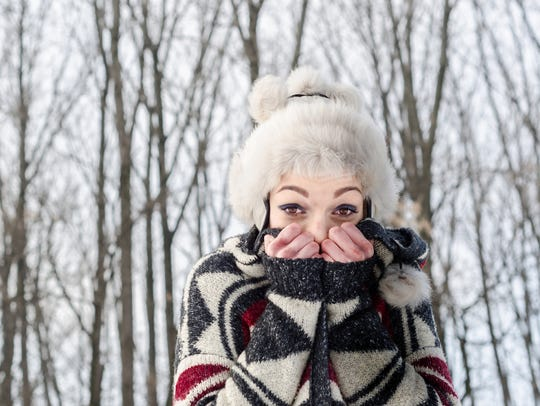Extremely cold weather is dangerous. Dress properly.