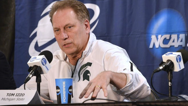 """""""I'm excited about the non-conference schedule that we've put together,"""" MSU coach Tom Izzo said."""