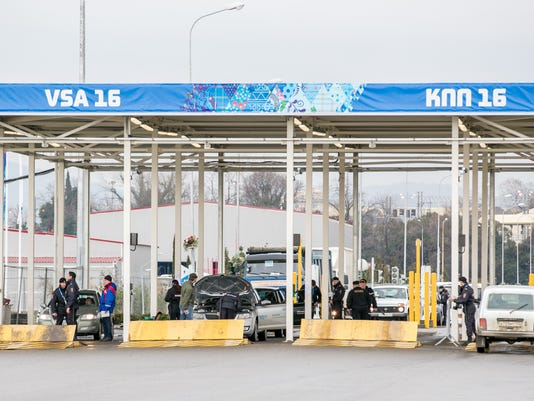 2014-1-20-sochi-security-checkpoint