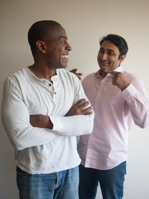 Carlos Watson and Samir Rao, co-founders of media start-up Ozymandias.