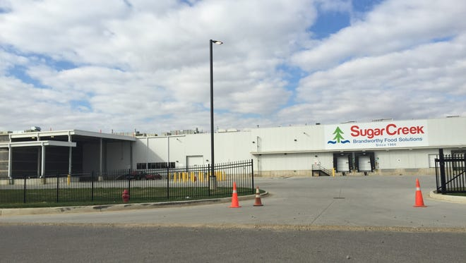 The SugarCreek plant at the Gateway Industrial Park near Cambridge City.