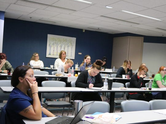 Nurses take sexual assault training class at Toledo