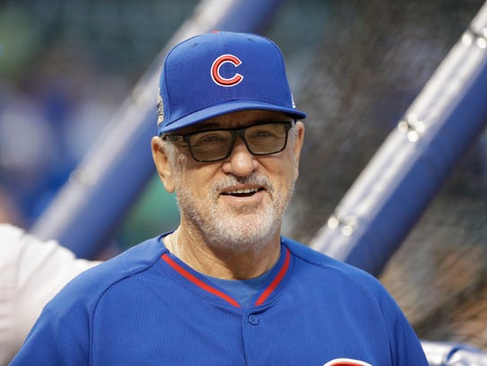 Joe Maddon's work to get the Cubs back from a 3-1 deficit